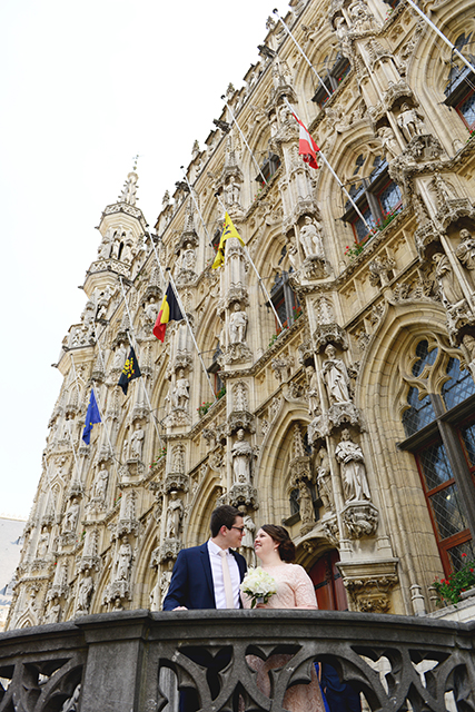 Civil wedding in Leuven