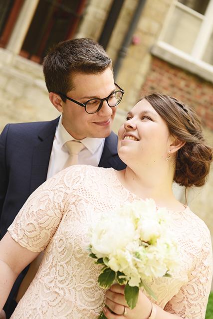 Civil wedding in Leuven
